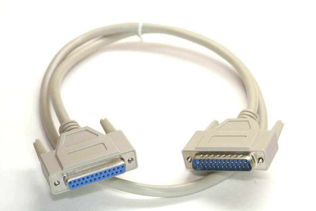 3FT DB25M to DB25F Cable