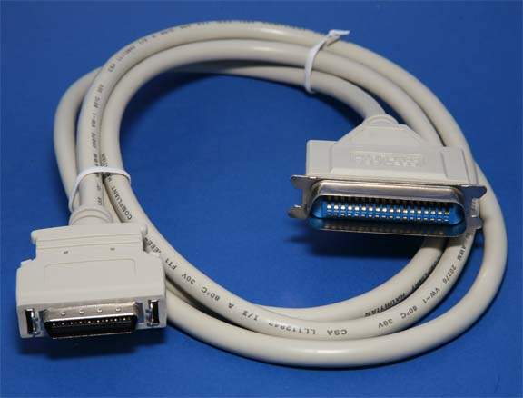 6FT PARALLEL PRINTER CABLE IEEE-1284 B-C CN36-HPCN36 Centronix