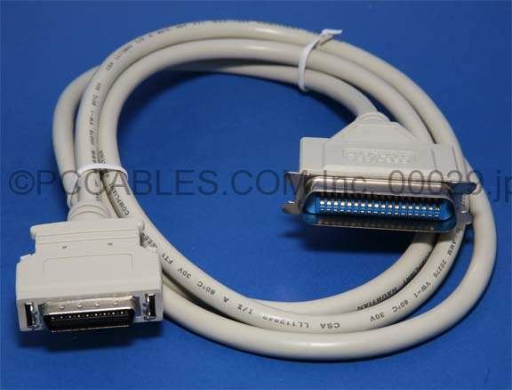 6FT PARALLEL PRINTER CABLE IEEE-1284 B-C