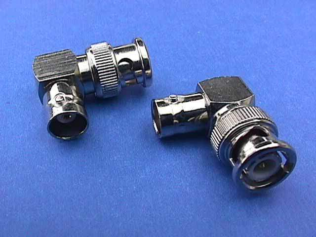 BNC Male-Female 90 DEG CONNECTOR Right Angle Adapter