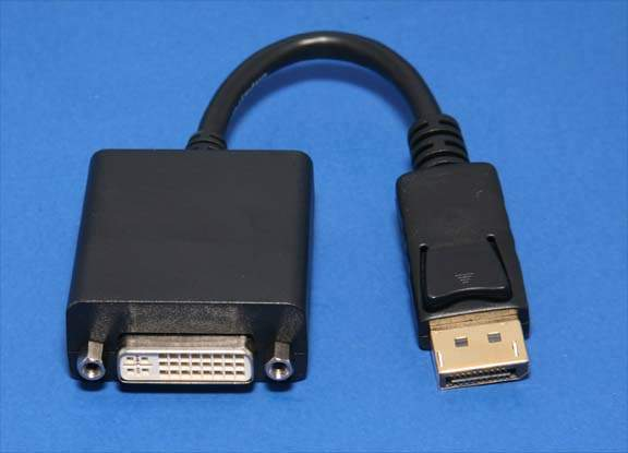 DisplayPort 1.1 Male to DVI-D Female Adapter Cable