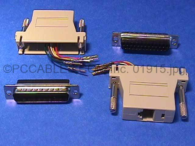 RJ45 To DB25-M Adapter