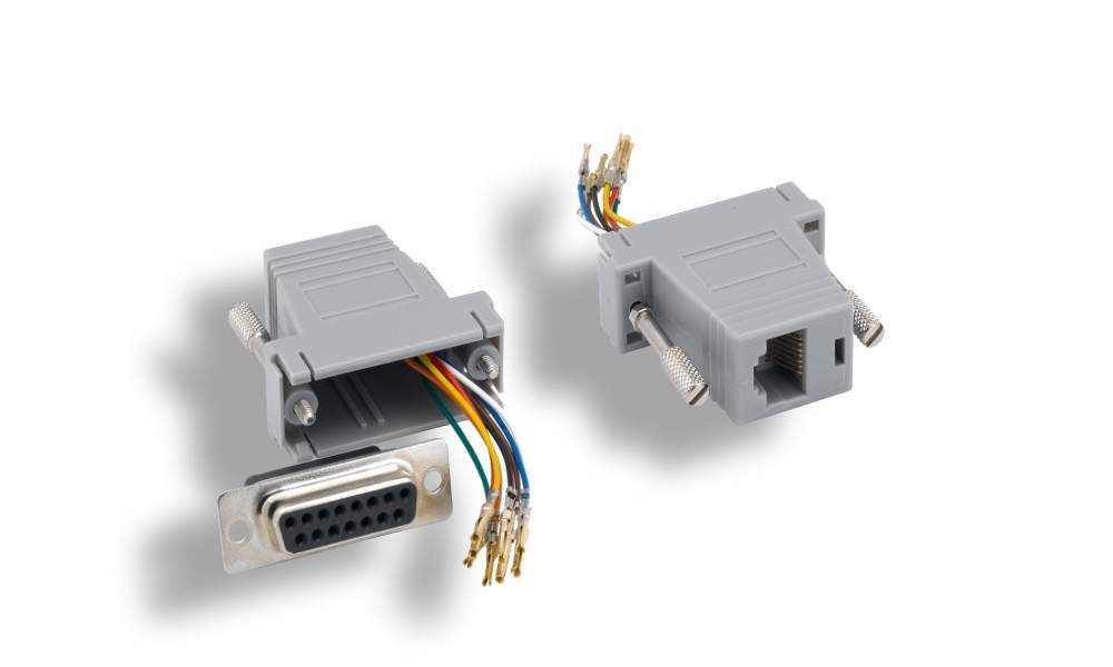 RJ45 to DB15-F Adapter